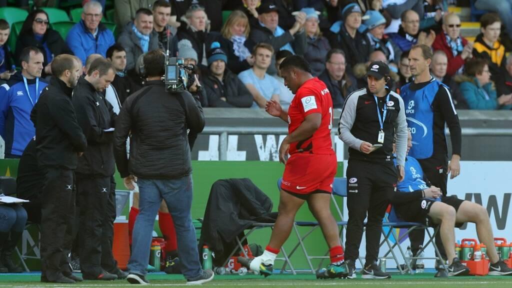 Saracens injury update: Nick Isiekwe, Billy Vunipola, Mako Vunipola