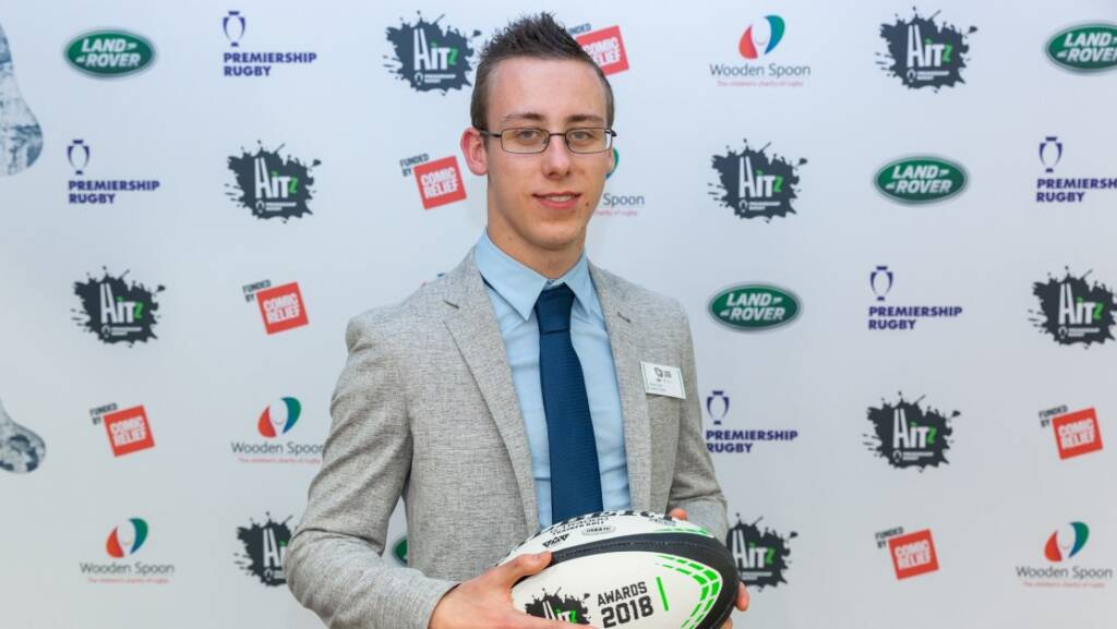 HITZ Exeter Chiefs' Aidan Seal surprised with Academic Achiever Award