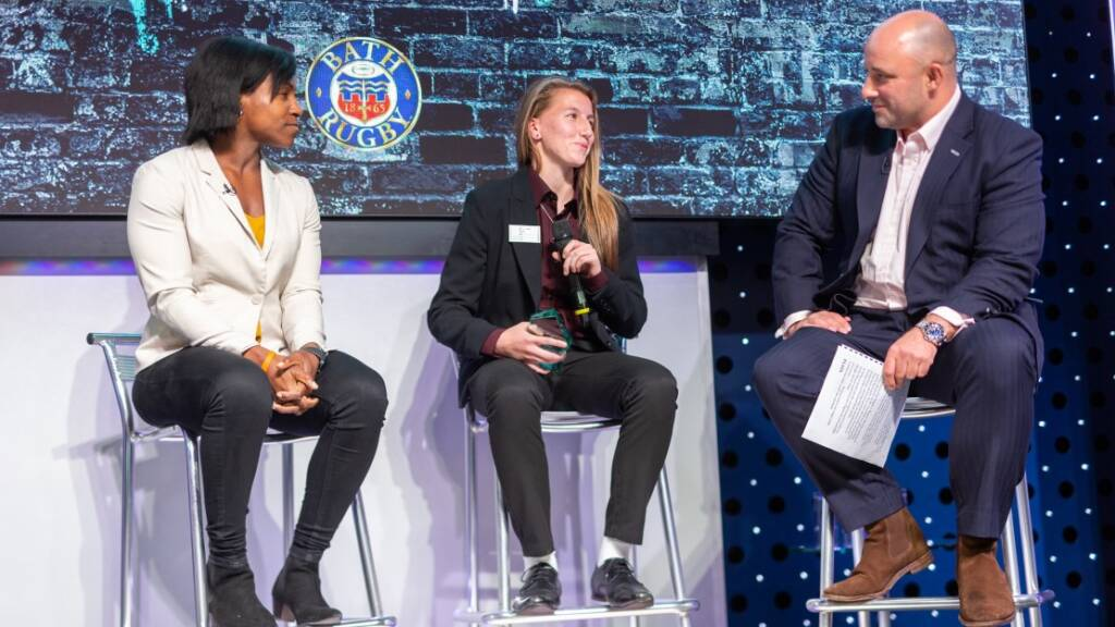HITZ Bath Rugby's Jade Whale takes home Rugby Ambassador Award