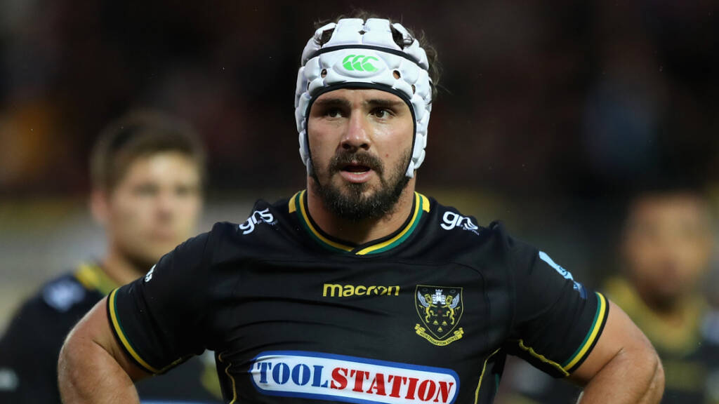 First starts for Strachan and Davies while Brüssow returns for Northampton Saints