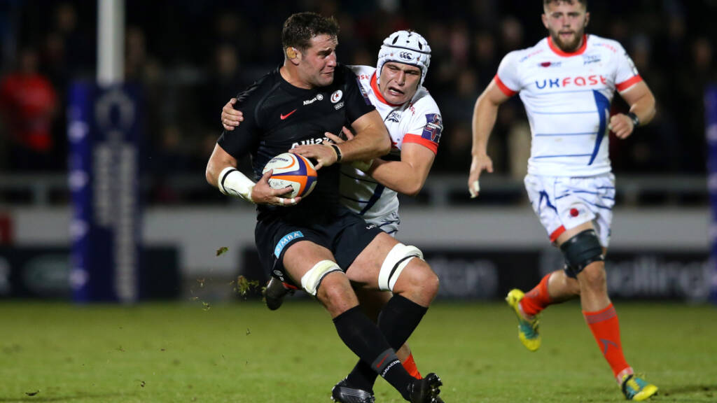 Saracens and Sale Sharks dominate Flats' XV from Premiership Rugby Cup round 2