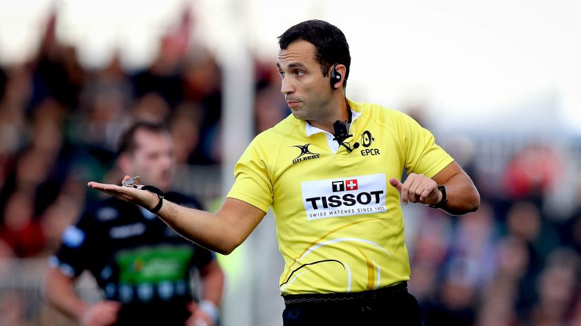 Heineken Champions Cup and Challenge Cup referee appointments