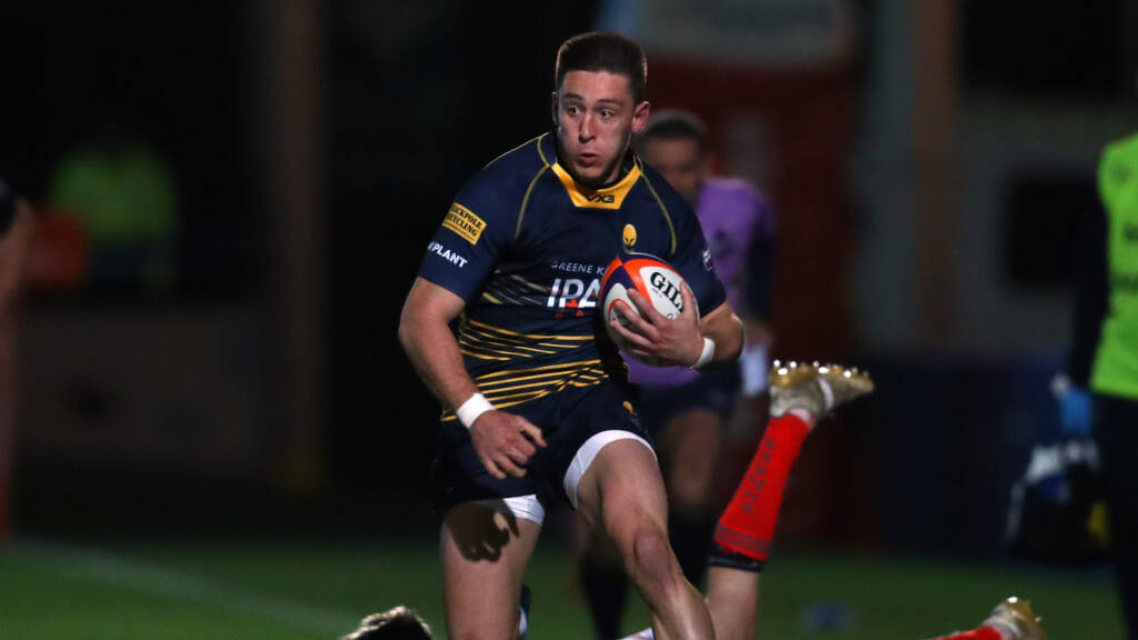 Worcester Warriors team to face Gloucester Rugby