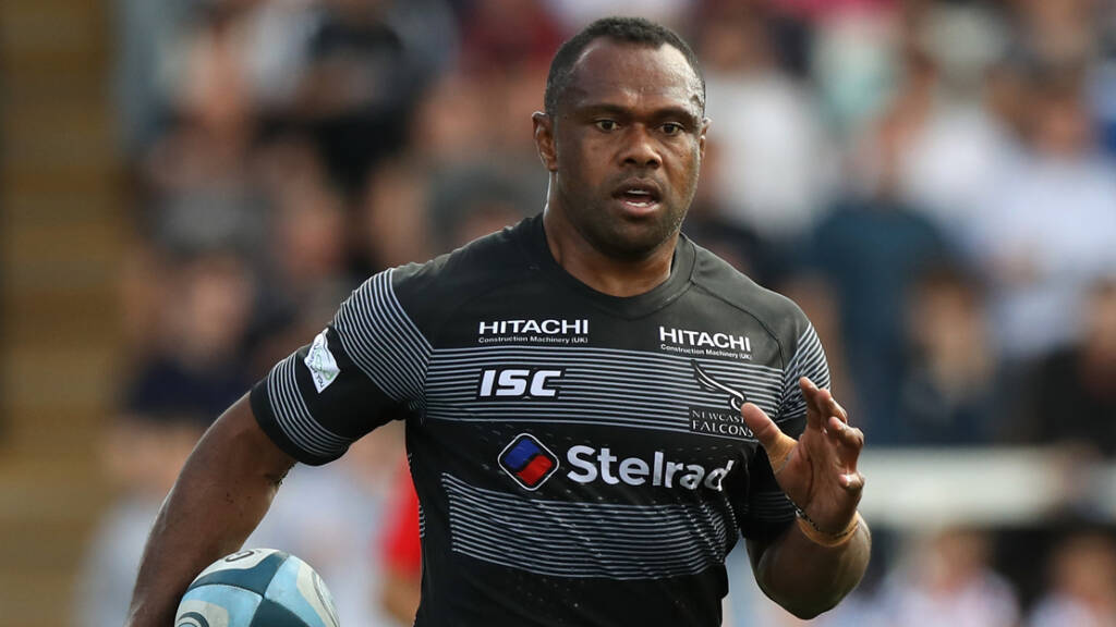 Harlequins sign Vereniki Goneva from Newcastle Falcons