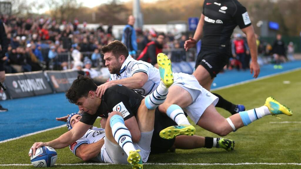 European Review: Super Saracens soar past Cardiff Blues while Tigers fall short