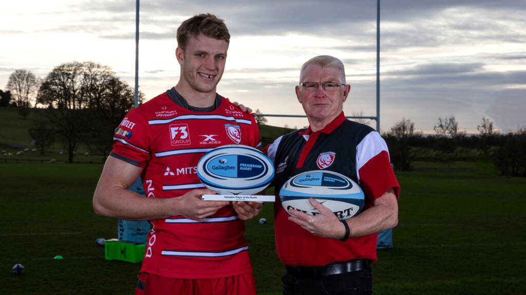 Ollie Thorley named Gallagher Premiership Rugby Player of the Month for November