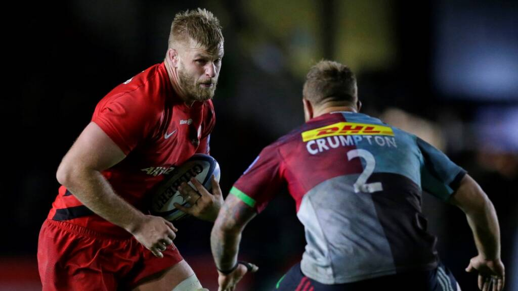 Saracens name team to face Cardiff Blues
