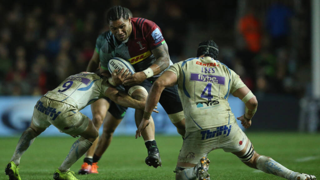 Harlequins announce squad to play Benetton