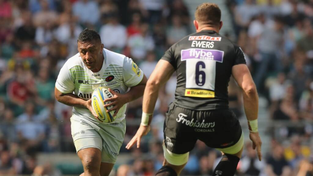 Exeter Chiefs, Saracens, Round 10, Gallagher Premiership Rugby