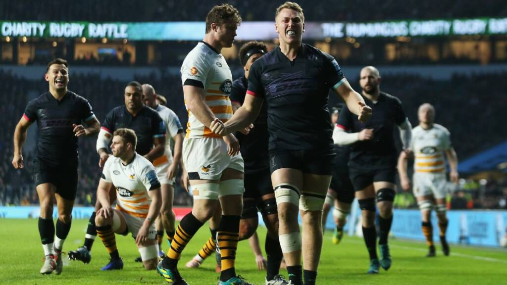 Dombrandt dots down for rapid try at Twickenham but record remains out of touch