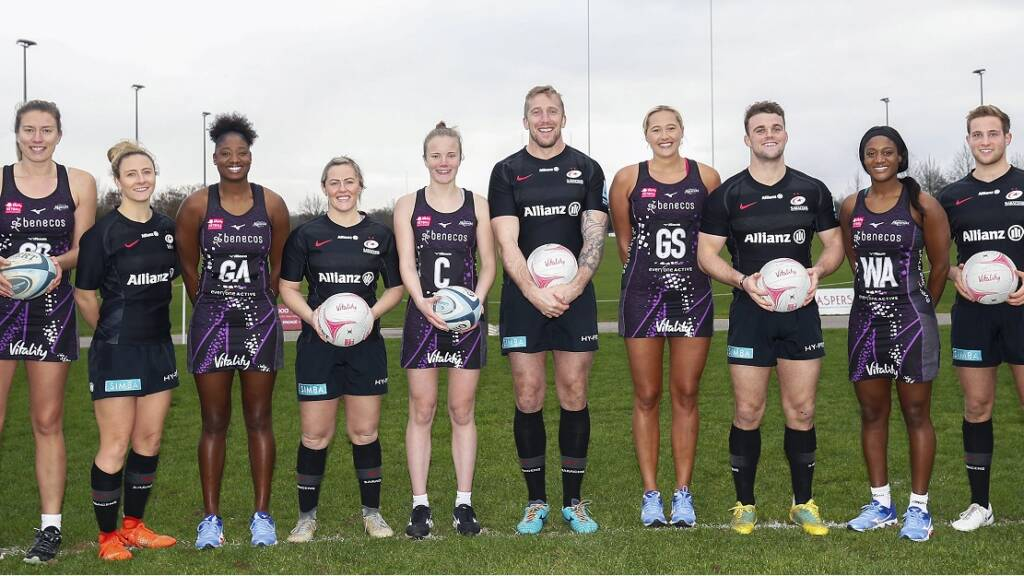 Saracens Rugby Club Agrees Joint Venture With Netball Superleague Team Mavericks