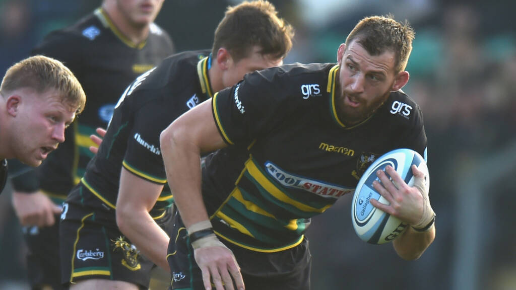 Wood to lead Northampton Saints side in search of Wasps double