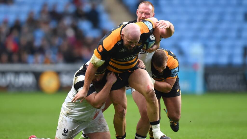 Sale Sharks sign Jake Cooper-Woolley from Wasps