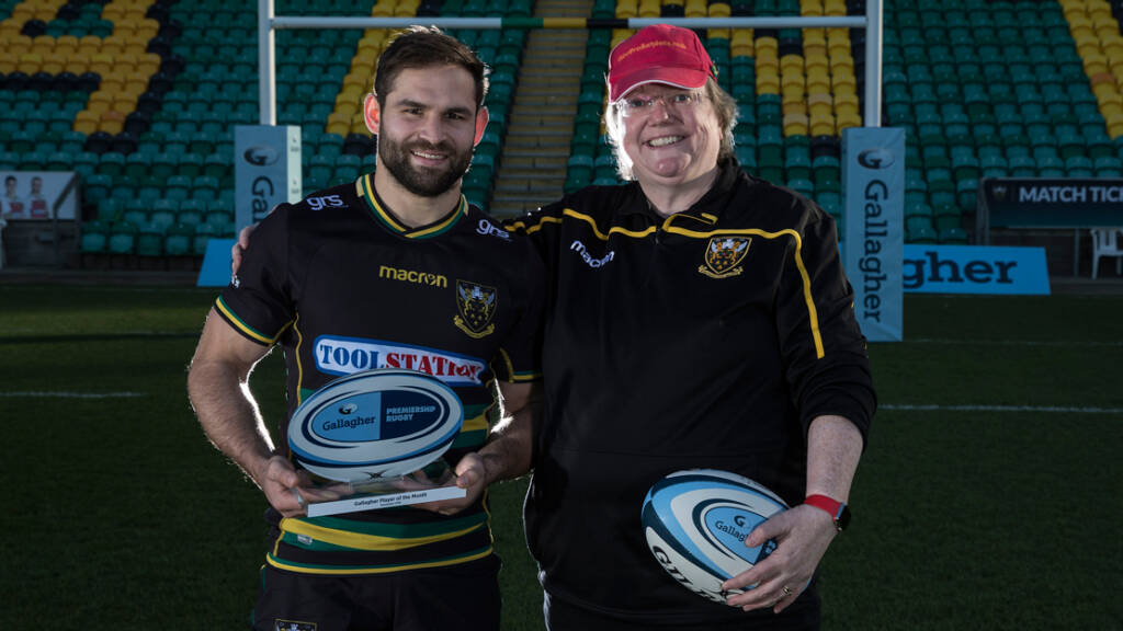 Cobus Reinach named Gallagher Premiership Rugby Player of the Month for December