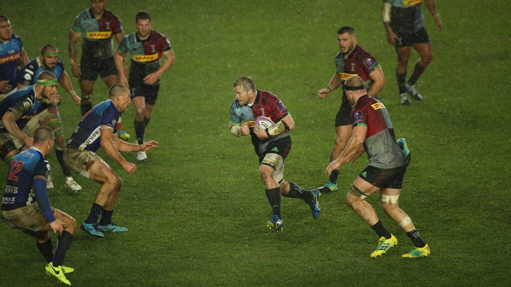 Harlequins announce squad to play Grenoble