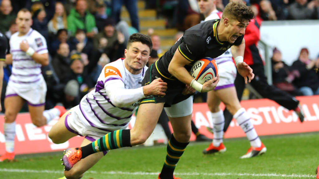 Northampton Saints' Grayson looking forward to Premiership Rugby 7s
