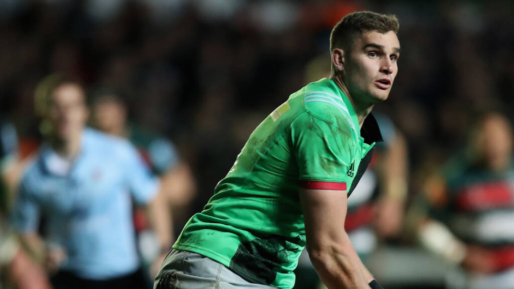 James Lang signs new Harlequins contract