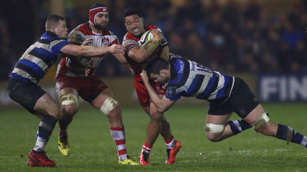 Throwback Thursday: Bath Rugby 17-17 Gloucester Rugby, 2017