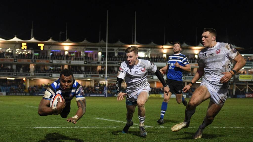 Exeter Chiefs forwards dominate Flats' XV from Premiership Rugby Cup Derby Day weekend