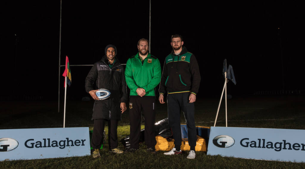 Northampton Saints' Haskell trains LGBTQ team in backing for rugby inclusivity