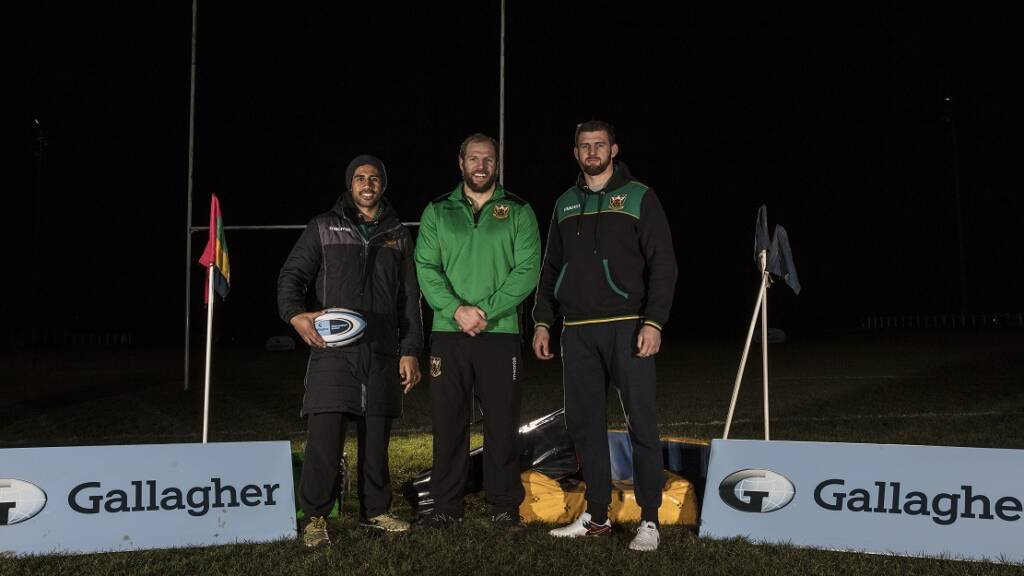 Ken Pisi ready for return of the Gallagher Prem as Saints welcome a familiar face to Franklin's Gardens