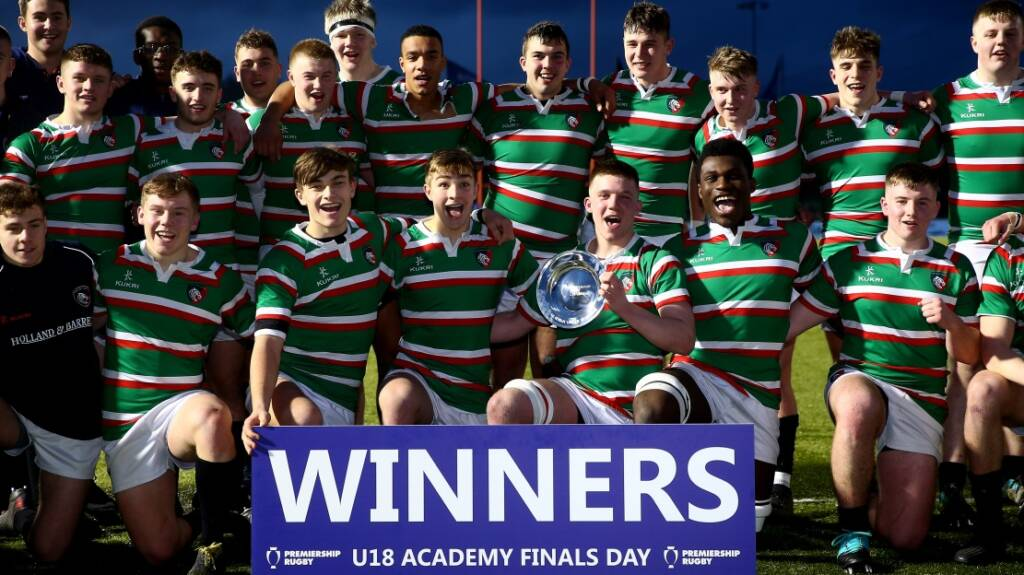 Leicester Tigers crowned Under-18s champions beating Gloucester Rugby 34-31