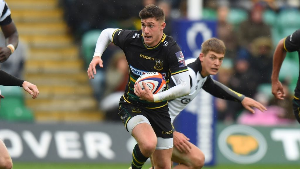 Northampton Saints' James Grayson wins Premiership Rugby Cup Breakthrough Player Award