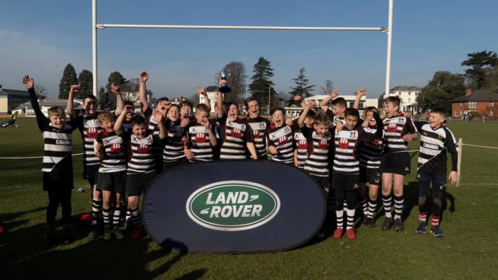 Lydney U12s triumph at Land Rover Premiership Rugby Cup hosted by Gloucester Rugby