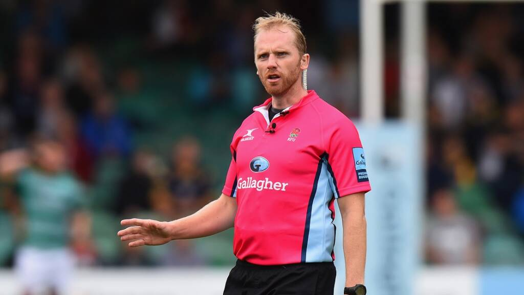 Referees at the ready for Round 17 of Gallagher Premiership Rugby