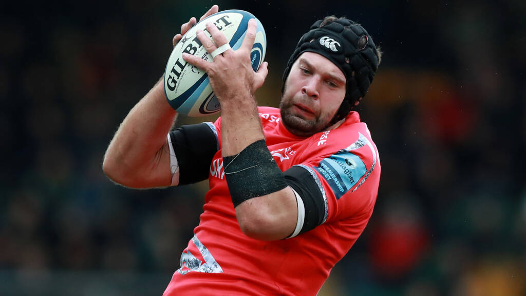 Sale Sharks team to face Leicester Tigers