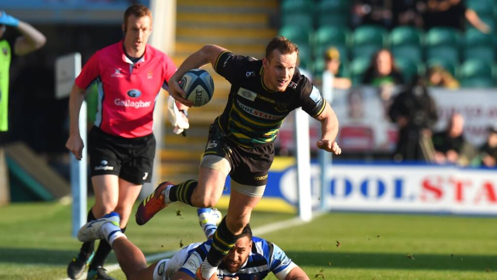 Rory Hutchinson signs contract extension with Northampton Saints