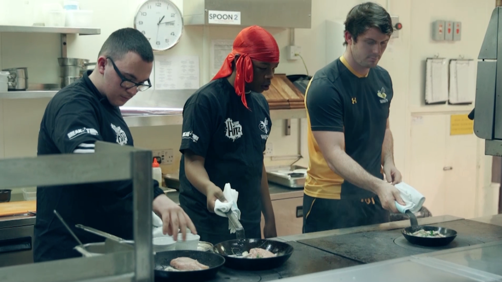HITZ learners take on MasterChef cooking challenge