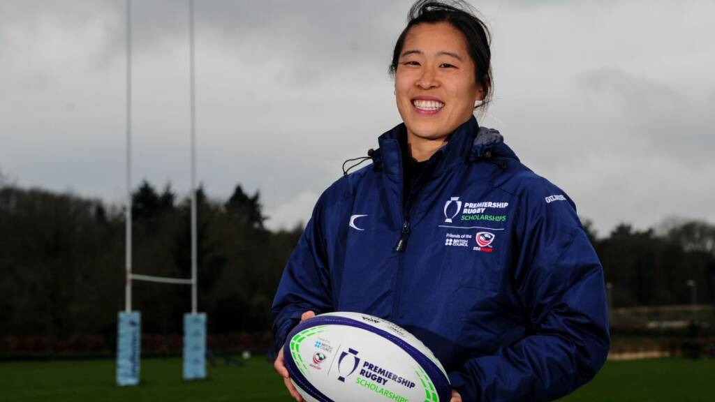 Jenny Lui hoping to see things from a different perspective with the Premiership Rugby Scholarship