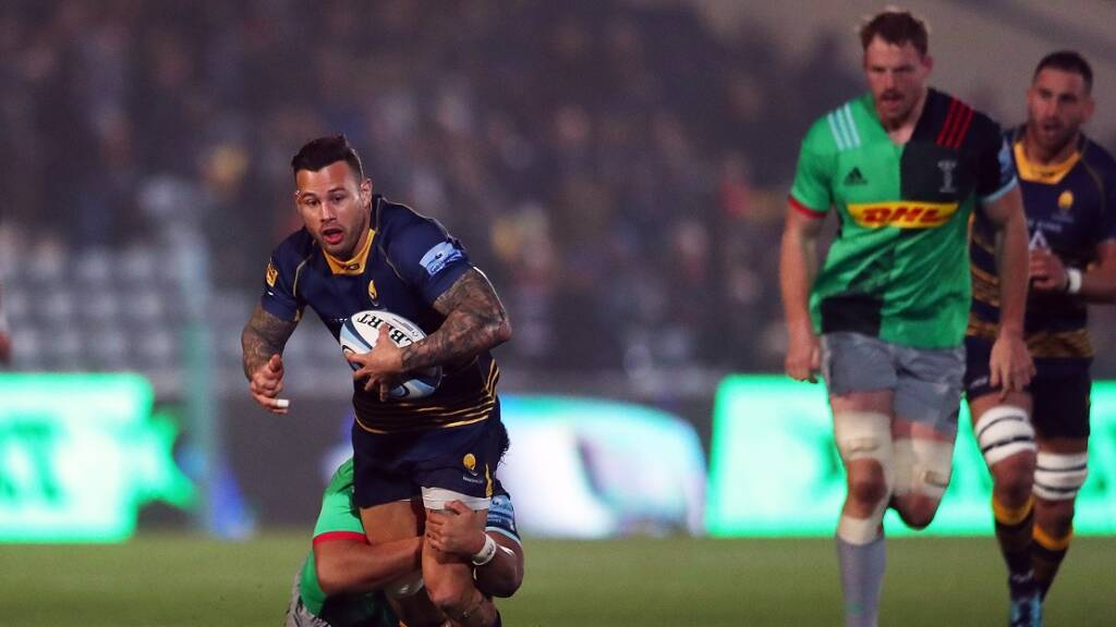 Worcester announce squad to tackle Harlequins in the Challenge Cup