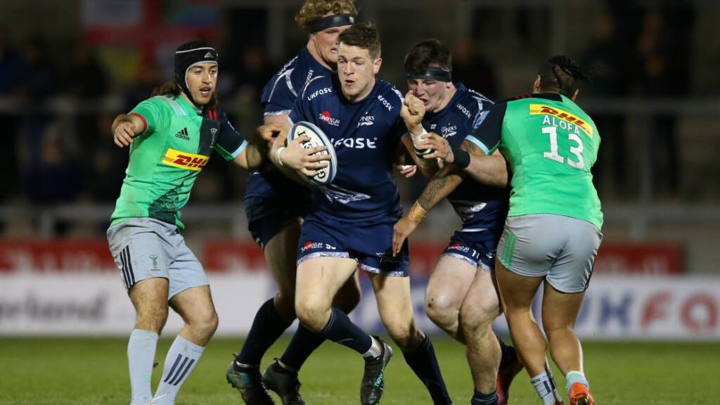 The Big Interview: Rugby's a family affair for Sale Sharks' Sam James