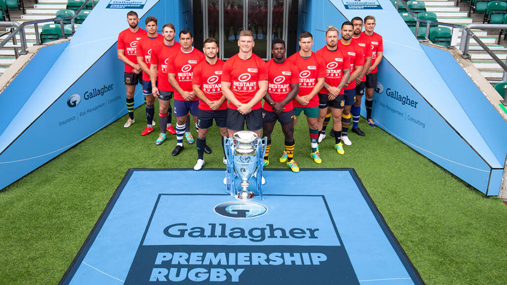 Premiership Rugby and the Premiership Rugby clubs support Restart Weekend 2019