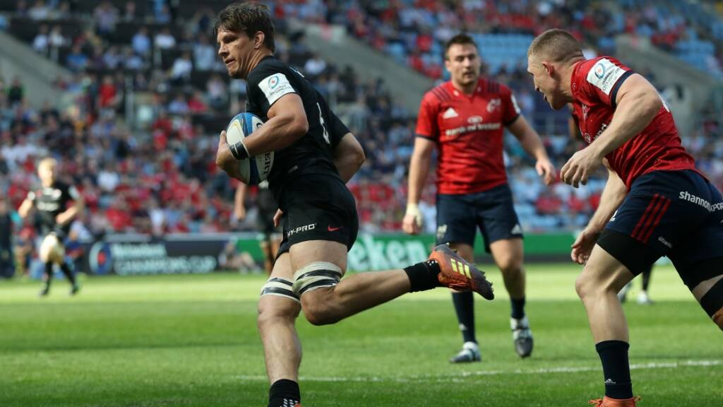 Saracens back in the European Champions Cup final after out-muscling Munster