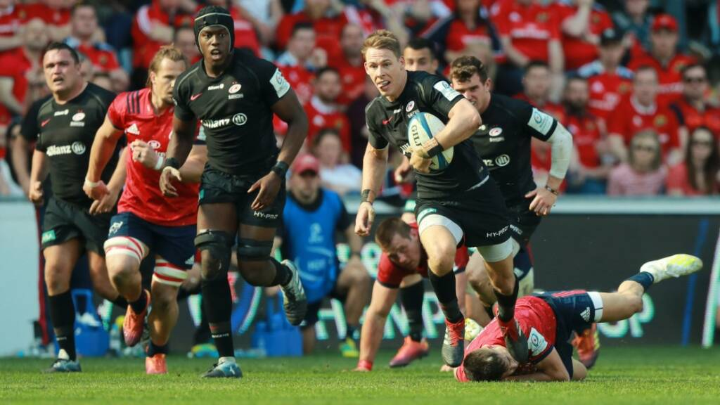 McCall and Saracens dreaming of a third European crown