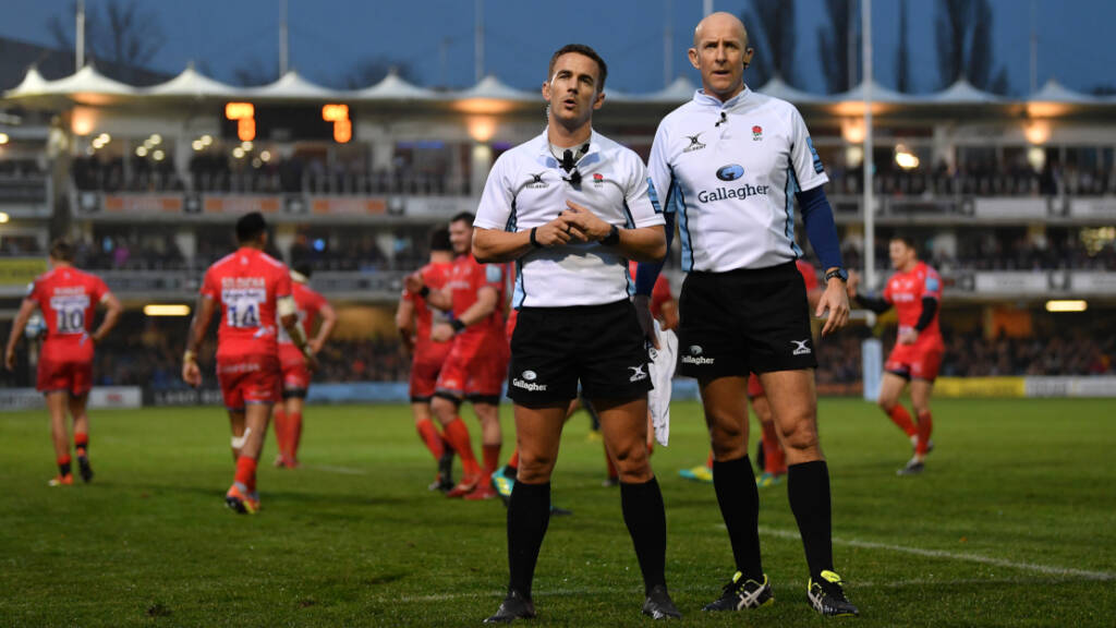 Referees at the ready for Gallagher Premiership Rugby Round 20