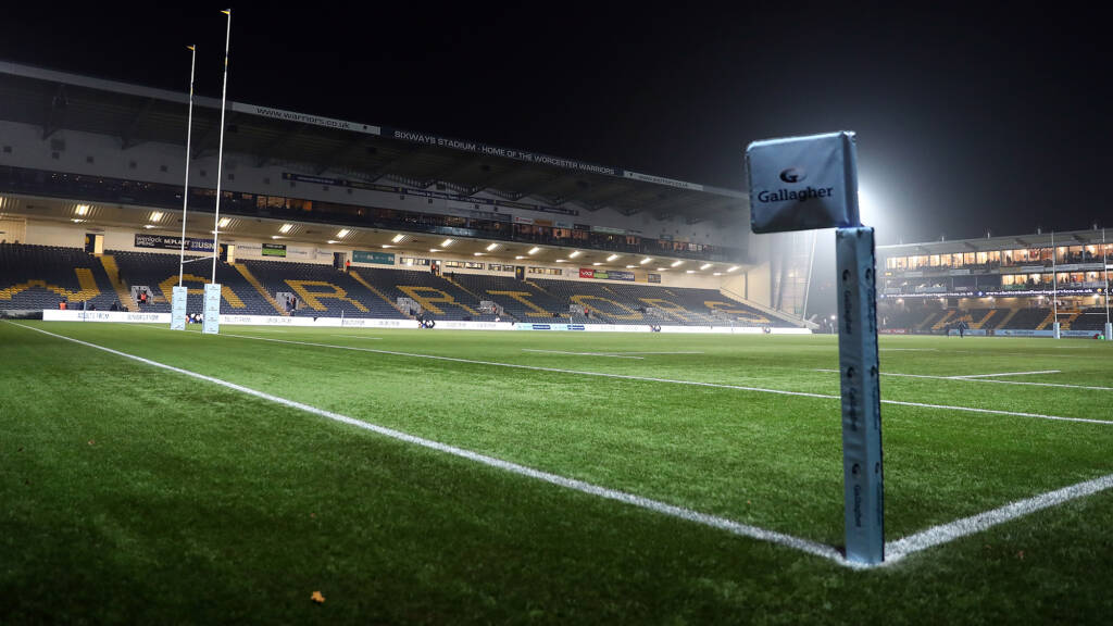 Worcester Warriors to switch on new floodlights in Sixways makeover