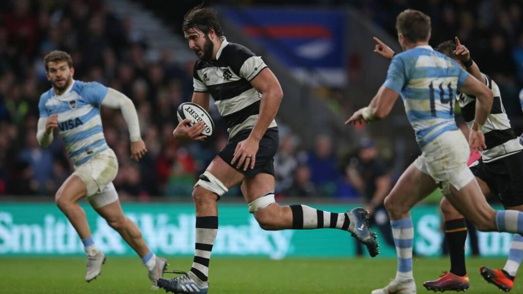 Sale Sharks sign Springbok second-row Lood De Jager