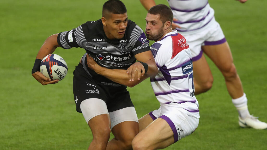 Joel Matavesi extends Newcastle Falcons terms