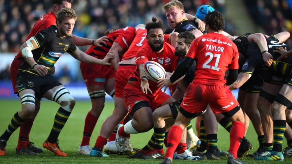 Saracens storm into Premiership Rugby Shield final