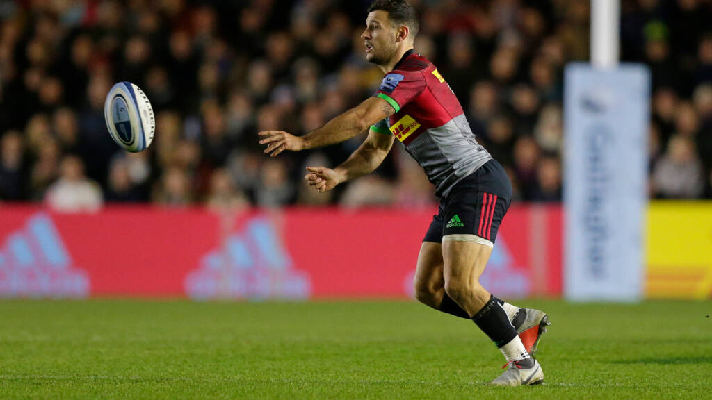 Harlequins announce squad to play Leicester Tigers