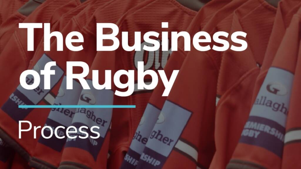 The Business of Rugby campaign concludes with the importance of 'Process'