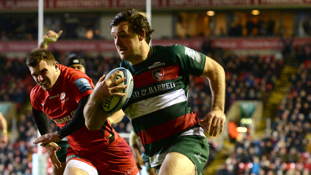 Matt Smith calls time on playing career at Leicester Tigers