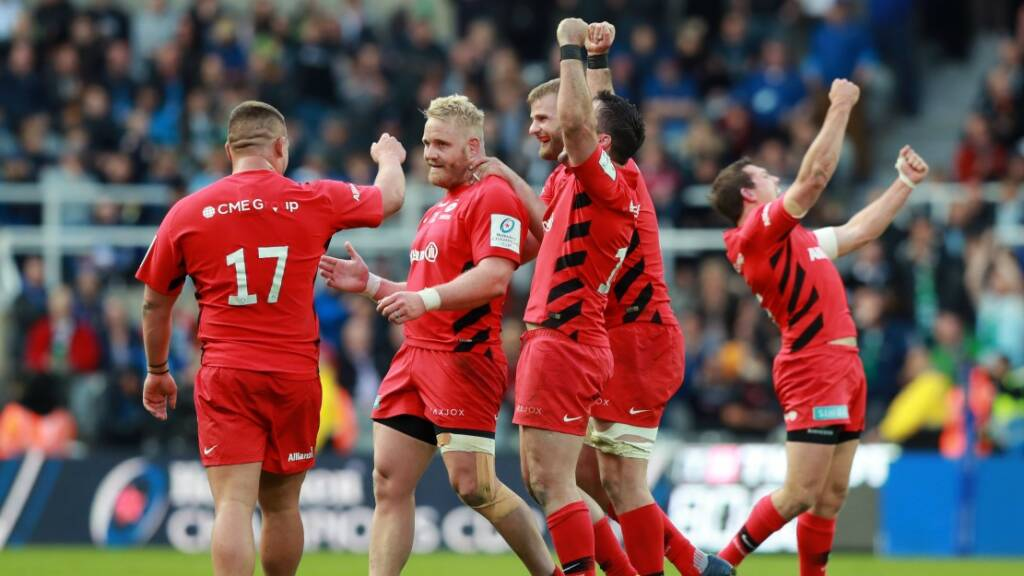 Saracens defeat Leinster to clinch historic third Champions Cup title