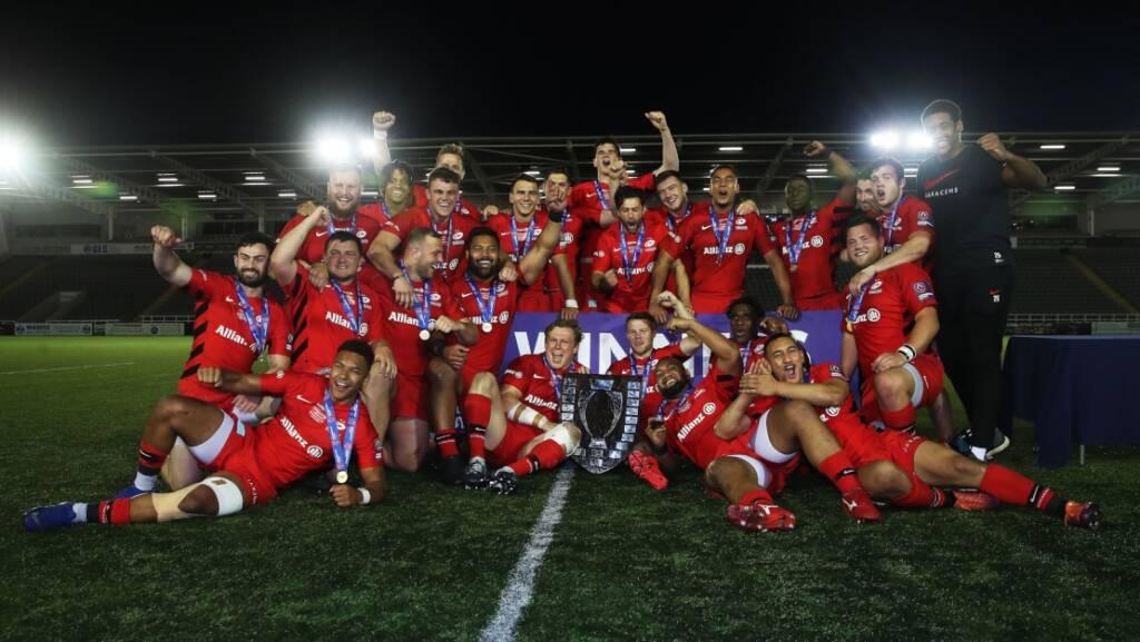 Brown leads praise as Saracens Storm claim Premiership Rugby Shield
