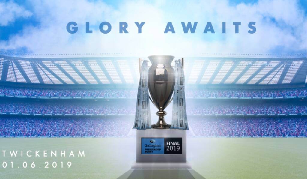 Premiership Rugby launches mobile tickets for the Gallagher Premiership Rugby Final