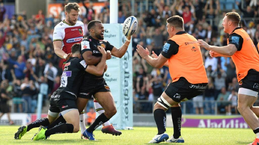 Exeter Chiefs secure Final spot with huge second-half performance